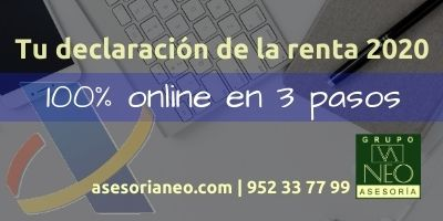 declaracion renta2020 2021 malaga online